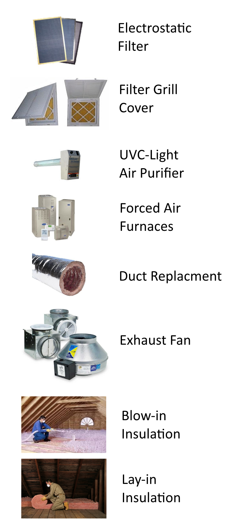 Air Duct Cleaning Puyallup Products
