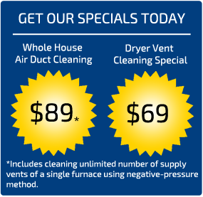 Air Duct Cleaning Puyallup Coupons